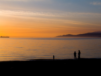 Family Sunset Stroll