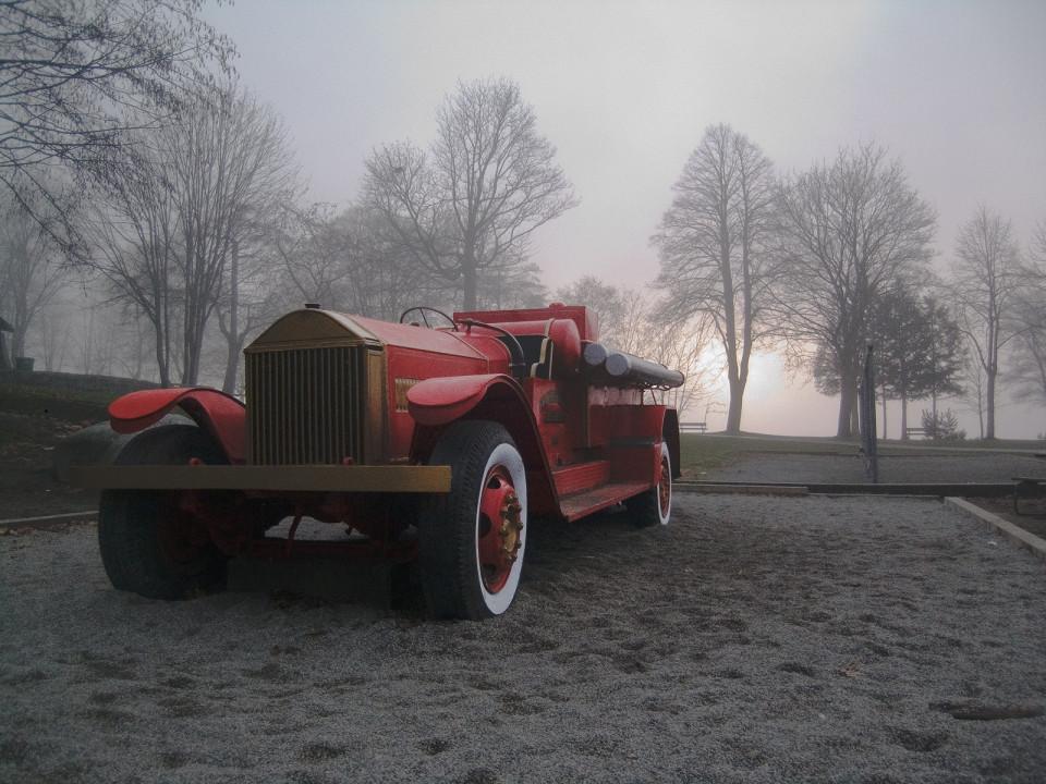 FireTruck in Fog #1