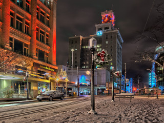 Granville @ Georgia in Snow