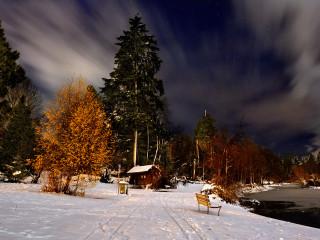 Stillness at Winter's Night 3