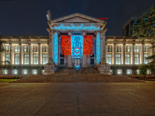 Vancouver Art Gallery at Night