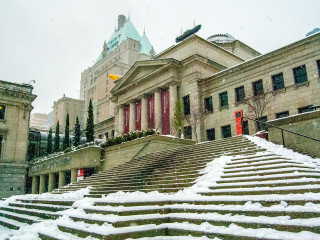Art Gallery in Snow