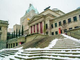 Art Gallery in Snow